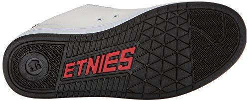 Etnies Metal Mulisha Fader, Chaussures de Skateboard homme Blanc (white/black/red)