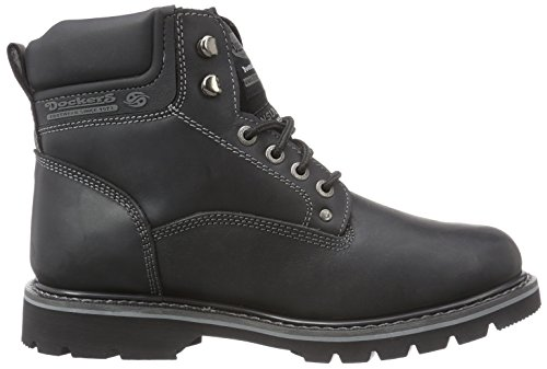 Dockers by Gerli 23da005-400460, Oxford homme Noir (schwarz 100)