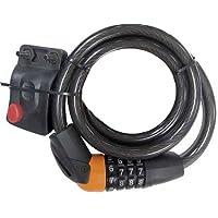Blackspur BB-BH209 Combination Bicycle Lock and Bracket