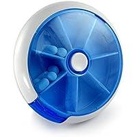 """7 Tage, 7 Fächer Medikamentenbox mit praktischem """"Push"""" Drehmechanismus, Pillenbox, Tablettendose, Tablettenbox... preisvergleich bei billige-tabletten.eu"""