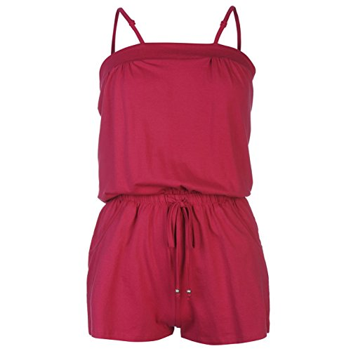 ocean-pacific-damen-jersey-overall-ladies-extra-leicht-sommer-aermellos-top-rosa-12-m