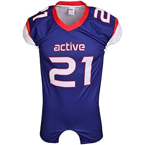 ACTIVE Custom design calcio maglia calcio wear quick dry jersey stampa viola con bel logo