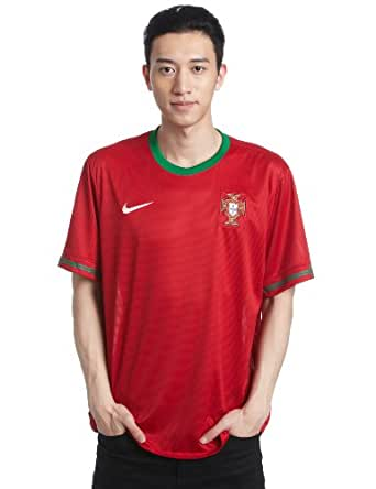 Portugal 12/13 S/S Home Replica Football Shirt Gym Red, Red, Large