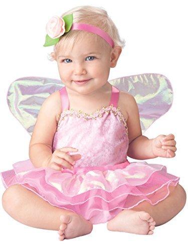 Deluxe Precious Baby Mädchen Pink Elfe Fairy Book Tag im Zeichen Halloween Kostüm Outfit