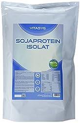 Vitasyg Soja Protein Isolat Natural Soy - Neutral, 1er Pack (1 x 1 kg)
