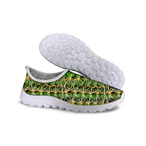 Men's Comfortable Green Athletic Shoes C0132AA