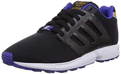 Adidas Zx Flux 2.0, Sneakers Basses Femme - Noir (core Black/core Black/night Flash S15), 36 EU