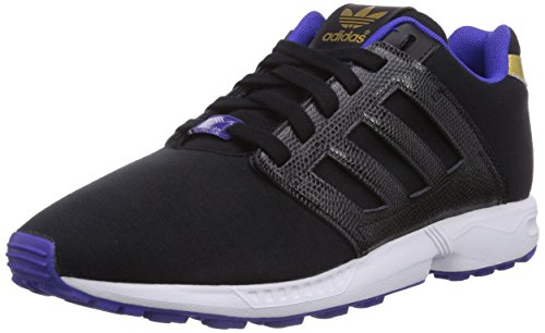 adidas ZX Flux 2.0, Senakers a Collo Basso da Donna Nero (Core Black/Core Black/Night Flash S15)