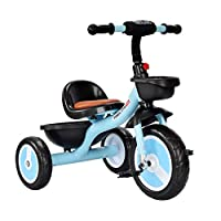 Tricycle for Children Kids Toddler Bicycle Little Learning Trike, Steer And Stroll Trike for Boys Girls 2-6Yrs Easy Installation