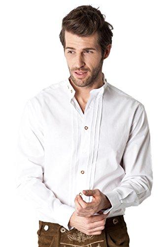 Ludwig und Therese Herren Trachtenhemd Louis weiß 2430 XL