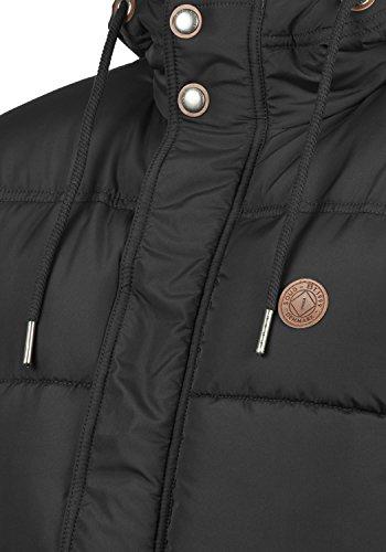 SOLID Denilson Herren Winterjacke Steppjacke aus hochwertiger Materialqualität Black (9000)