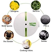 KOBWA 1291/5000 Générateur d'ozone, purificateur d'air Purificateur d'air réglable pour Chambres, Cuisines, Maisons avec Animaux domestiques