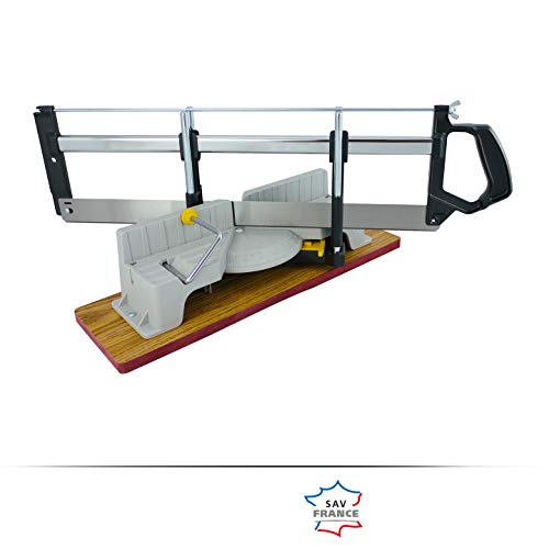 ENERGYSaw-550 - SIERRA INGLETADORA MANUAL 550 mm con base de madera