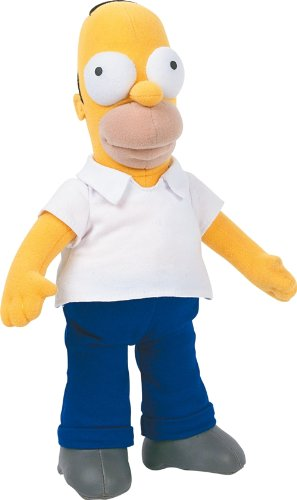 United Labels 1000182 - Plüschfigur Simpsons Homer (Stofftiere Simpsons)