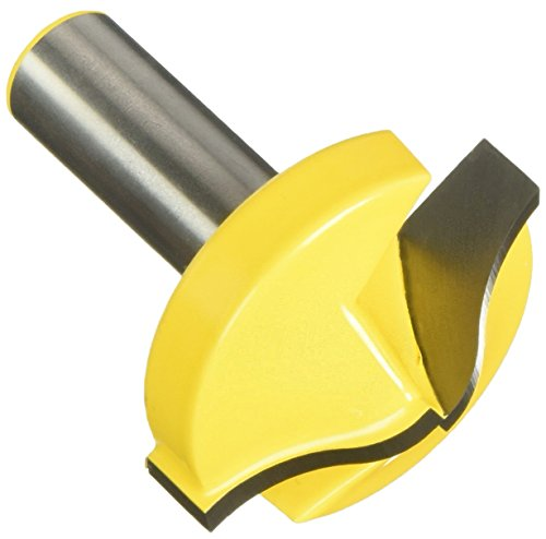 Yonico 14984 Large Ogee Groove Router Bit with CNC and Plunge 1/2-Inch Shank