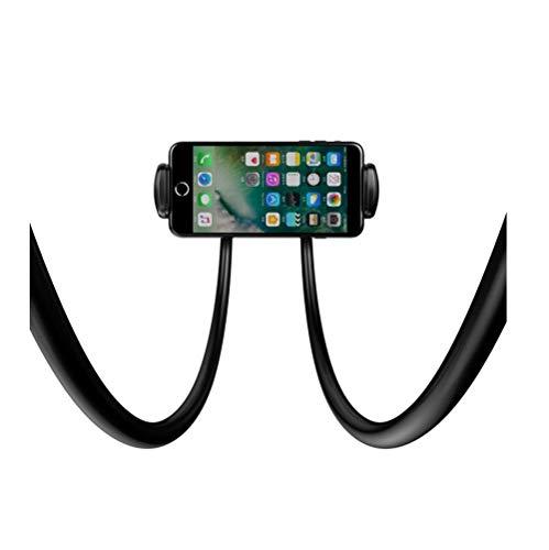 WSJ Handy-Halter, Handy-Faule Hals-Montiert, Mehrere Möglichkeiten Zu Verwenden, Handy Und Tablet Universal, Multifunktionssnap-On, 360 ° Verstellbar -
