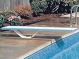 Plongeoir droit complet 183cm avec socle kit fixation SCP 259990100+259990200