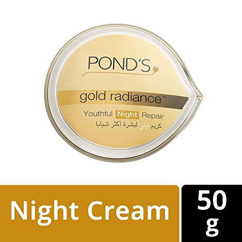 Pond's Gold Radiance Youthful Night Repair Cream 50g by N MARKET - Night Repair Cream
