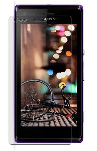 4x Maoni ANTIREFLEX (Anti-Fingerprint-seidenmatt) Bildschirm Schutz Folie Schutzfolien für Sony Xperia M Dual C2004 / C2005