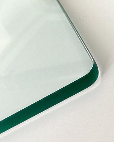 Glasscheibe,Glasplatte Rechteck Gr. 800 x 800 x 10 mm. Beistelltisch, (Rechteck Glas)