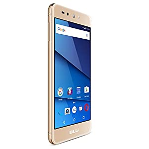BLU Grand X LTE UK SIM-Free Smartphone - Gold