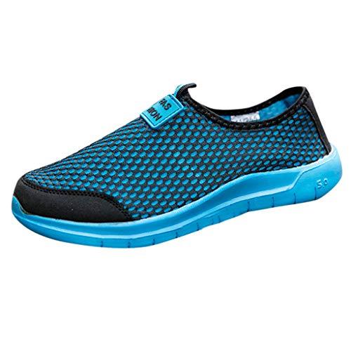 Innerternet Herren Damen Mesh Laufschuhe Gym Freizeitschuhe Sportschuhe Sneaker Atmungsaktive Turnschuhe Wanderschuhe Ultra-Light Running Wanderschuhe Outdoorschuhe