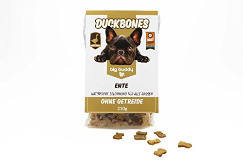 2x big buddy® Duckbones Leckerlies Hundekekse Hundefutter Hundesnack Glutenfrei TOP - 2