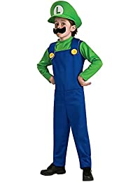 Rubies Costume Co R883654-M Child Super Mario Bros Luigi Kost-m Gr--e Medium