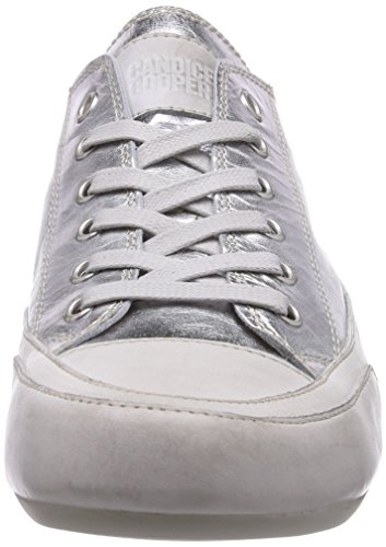 Candice Cooper Rock.laminato, Baskets Basses femme Argent - Silber (argento)
