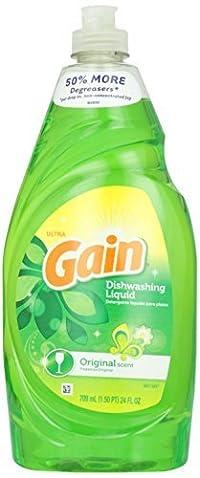 GAIN Gain Ultra Dishwashing Liquid Original Scent - 24 Fl. Oz. by GAIN