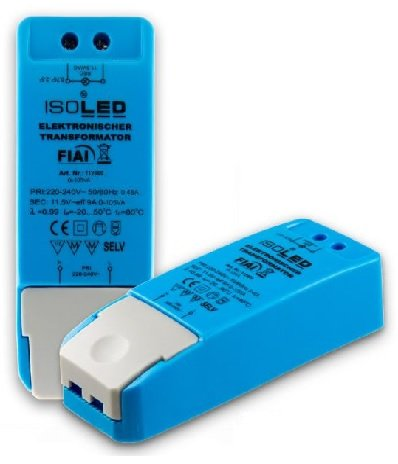 Isoled 111269 LEDTrafo für LED Lampen, 12V 0-105VA, dimmbar