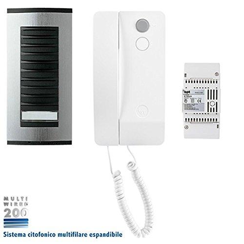 BPT 61700150 Sprechanlagen-Set für Einfamilienhäuser, Mehrdrahtsystem 200