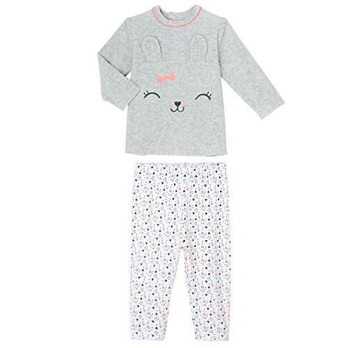 1d7d0de430bc9 Petit Béguin - Pyjama bébé 2 pièces velours Pretty Bunny - Taille - 24 mois