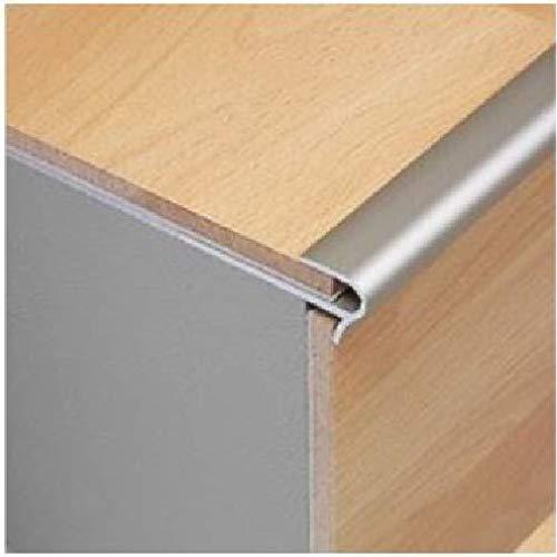 Laminat Treppenkantennase - Aluminium - Holzboden stilvoll - 8 mm - Tile Edging Trim