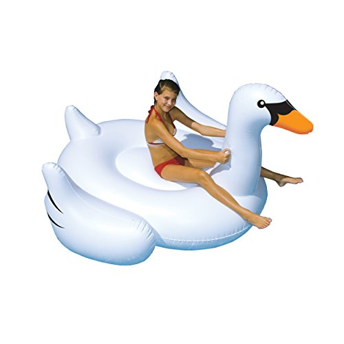 swimline-giant-swan-75-in-inflatable-ride-on-pool-toy-by-swimline