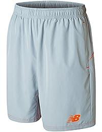 NEW BALANCE Dry Tech Woven Pantalones Cortos De Entrenamiento para niño, hombre, plata, extra-large