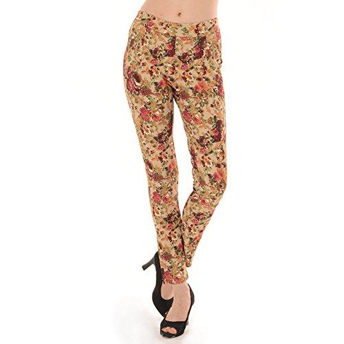 La signora pigiama primavera e l'estate/Slim stampato Leggings Waichuan/Coppia/ Pantaloni può andare A