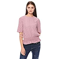 Vero Moda Asymmetrical Tops For Women, Rose Gold M
