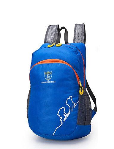 ZQ 20 L Rucksack Camping & Wandern / Klettern Draußen Wasserdicht Gelb / Grün / Rot / Schwarz / Blau / Dunkelgrün / Dunkelrosa Nylon DAOFENG Orange