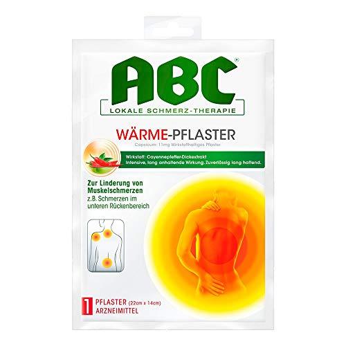 ABC Wärme-Pflaster Capsicum 11mg Hansaplast med 1 stk