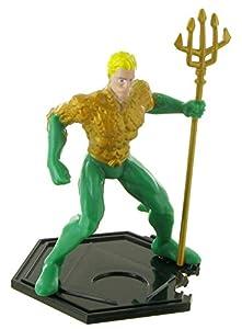 Figuras de la liga de la justicia - Figura Aquaman - 9 cm - DC comics - Justice league - liga de la justicia (Comansi Y99198)