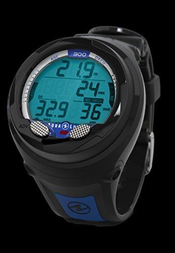 Aqualung i300 Tauchcomputer schwarz/blau -