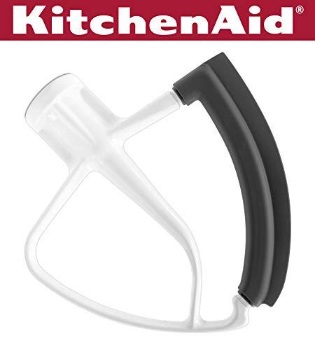 KitchenAid KFE5T Tilt Head Flex Edge beater, stahl, weiß