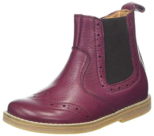 Froddo Mädchen G3160100 Chelsea Boots, Rot (Bordeaux I28), 29 EU