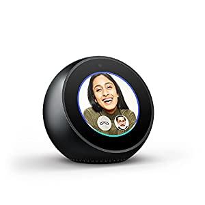 Echo Spot - Stylish echo with a screen, make video calls, Voice control your music, news, weather & more 1