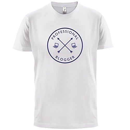 Professioneller Blogger - Herren T-Shirt - 13 Farben Weiß