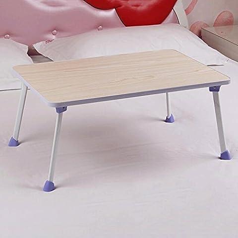 GAOLILI Einfache Computer Schreibtisch Bett mit Laptop Schreibtisch Einfache moderne Faltbare Schlafsaal Lazy Schreibtisch Lernen Kleine Schreibtisch ( Farbe : C )