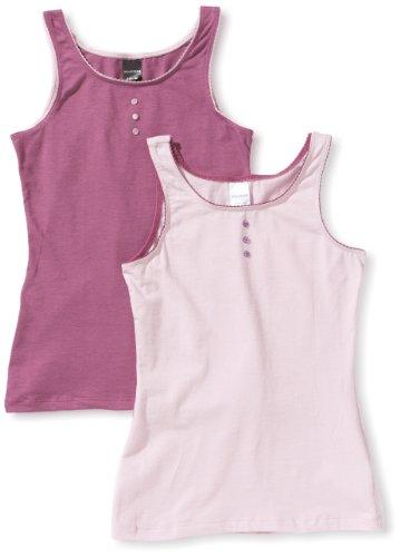 Schiesser - Camiseta interior para niña, pack de 2 Schiesser