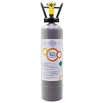 OCOPRO CO2 Anlage DLX-350 Plus Aquarium mit Nachtabschaltung & 2kg Mehrwegflasche