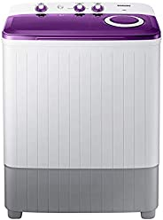 Samsung 6.0 Kg 5 Star Semi-Automatic Top Loading Washing Machine (WT60R2000LL/TL, Light Grey, Center jet techn